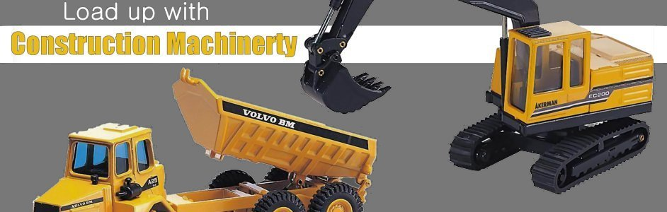 Load up with Construction Machinery