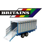Britains farm trailers and implements