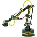 Spearhead Orbital Reach Mower - Model Farm Implements from Britains - 1:32 scale  (Britains 00048)