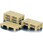Pallets (Pack of 10) - Die cast miniatures from SIKU  (SIKU 0886)