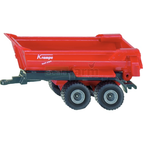 Krampe Half-Pipe Tipping Trailer (SIKU 1023)