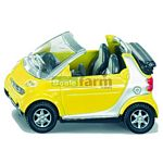 Smart Fortwo Cabrio   - Die cast miniatures from SIKU  (SIKU 1042)