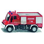 Mercedes Benz Unimog Fire Tender   - Die cast miniatures from SIKU  (SIKU 1068)