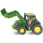 John Deere Tractor With Front Loader - Die cast miniatures from SIKU  (SIKU 1341)
