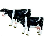 Black and White Cows (Pack of 2)