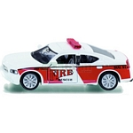 Dodge Charger - US fire service command car  - Die cast miniatures from SIKU  (SIKU 1468)