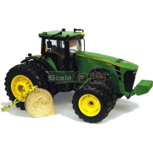 John Deere Dual Wheels : Britains john deere tractor with dual wheels
