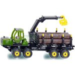 John Deere Forwarder with Logs - Die cast miniatures from SIKU  (SIKU 1649)