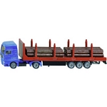 MAN Truck and Forestry Trailer - Die cast miniatures from SIKU  (SIKU 1659)
