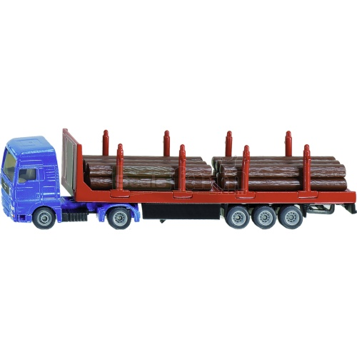 MAN Truck and Forestry Trailer (SIKU 1659)