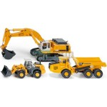 3 Piece Liebherr / Volvo Construction Set - Super Series from SIKU - 1:87 Scale  (SIKU 1810)