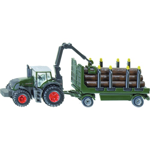 Fendt 939 Tractor with Forestry Trailer (SIKU 1861)