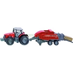 Massey Ferguson MF8690 Tractor and Baler - Farmer Series from SIKU - 1:50 scale  (SIKU 1951)