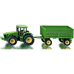 John Deere 8430 Tractor and Trailer - Farmer Series from SIKU - 1:50 scale  (SIKU 1953)