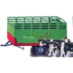 Twin Axled Stock Trailer - Farmer Series from SIKU - 1:32 scale  (SIKU 2875)