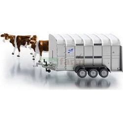 Ifor Williams Stock Trailer With 2 Cows - Farmer Series from SIKU - 1:32 scale (SIKU 2890)