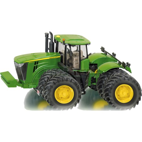John Deere Dual Wheels : Siku john deere r dual wheeled tractor