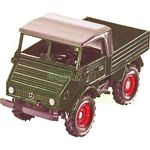 Mercedes Benz Unimog 411 All Purpose Vehicle - Farmer Series from SIKU - 1:32 scale  (SIKU 3450)