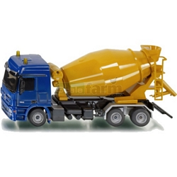 Mercedes Benz Actros Concrete Mixer - Super Series from SIKU - 1:50 Scale (SIKU 3539)