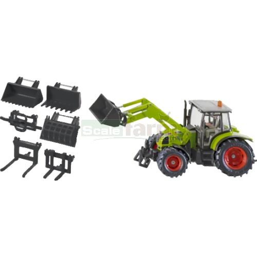 CLAAS Tractor with Front Loader Set (SIKU 3690)