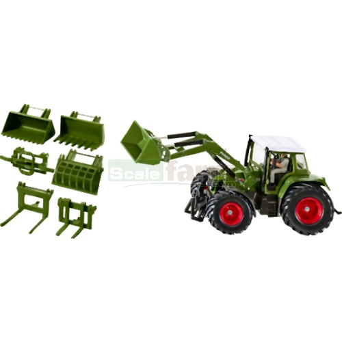 Fendt 712 Vario Tractor with Front Loader Set (SIKU 3691)
