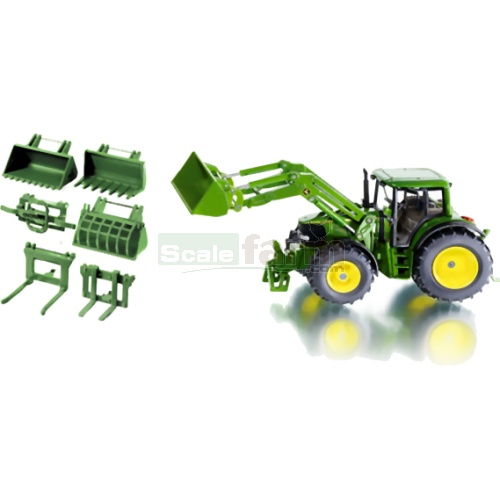 John Deere 6820 Tractor with Front Loader Set (SIKU 3692)