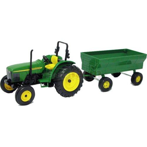 John Deere Wagons Flowered : Britains a john deere tractor and wagon