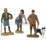 Farming Family Figures - Farmyard Accessories from Britains - 1:32 scale  (Britains 40954)