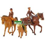 Horses and Riders - Farmyard Accessories from Britains - 1:32 scale  (Britains 40956)