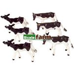 Friesian Calves - Farmyard Accessories from Britains - 1:32 scale  (Britains 40960)