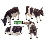 Friesian Cattle - Farmyard Accessories from Britains - 1:32 scale  (Britains 40961)
