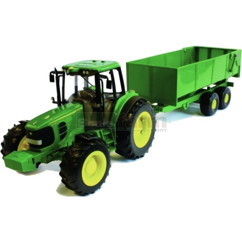 John Deere 6930 Tractor and Bulk Tipping Trailer - Big Farm (Britains 42512)