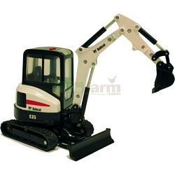 Bobcat E-35 Compact Excavator - Big Farm - Big Farm from Britains - 1:16 scale (Britains 42706)