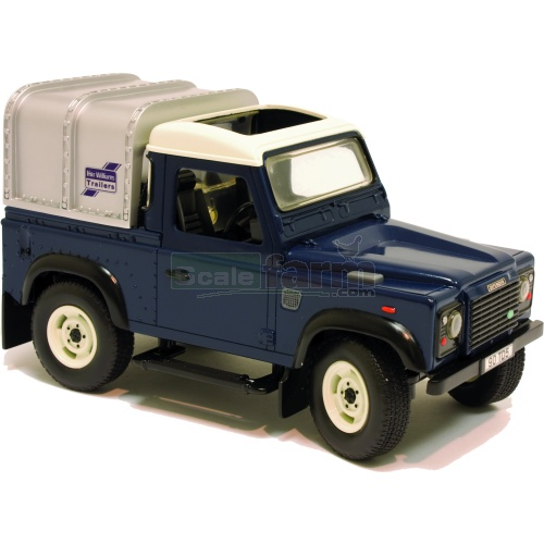 Land Rover Defender - Big Farm (Blue) (Britains 42707)