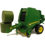 John Deere 854 Round Baler - Big Farm - Big Farm from Britains - 1:16 scale  (Britains 42710)