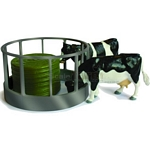 Cattle Feeder Set - Farmyard Accessories from Britains - 1:32 scale  (Britains 42715)