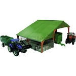 Dual Purpose Building - Authentic Farm Model from Britains - 1:32 scale  (Britains 42733)