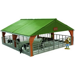 Livestock Building - Authentic Farm Model from Britains - 1:32 scale (Britains 42734)