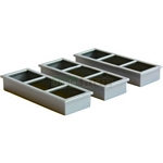 Troughs (Pack of 6)