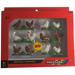 Chickens - Farmyard Accessories from Britains - 1:32 scale  (Britains 42812)