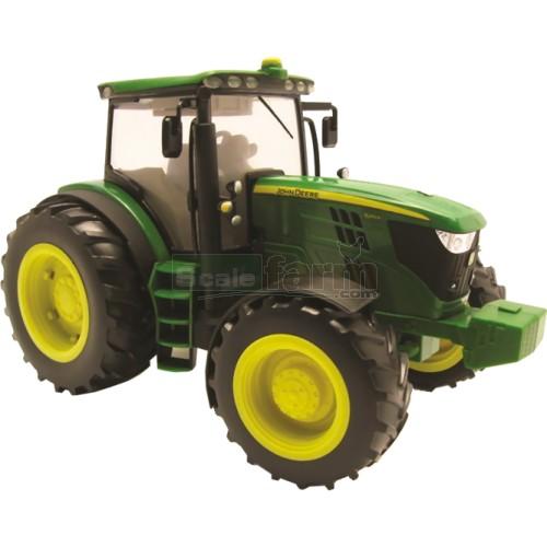 Large John Deere Farm Tractors : Britains john deere r tractor big farm