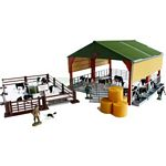 Farm Building and Accessories Set - Authentic Farm Model from Britains - 1:32 scale  (Britains 42878)