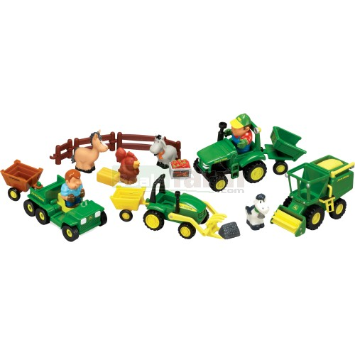 John Deere Fun on the Farm Playset (Britains / ERTL 42945)