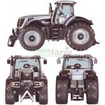 JCB 8250 V-Tronic Tractor - Limited Edition - SIKU Limited Edition - 1:32 scale  (SIKU 4484)
