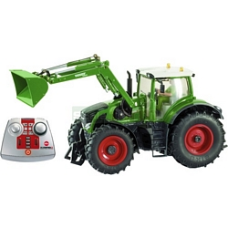 Fendt 939 Cargo Tractor with Front Loader (2.4 GHz with Remote Control Handset) - Remote Control Farm Series from SIKU - 1:32 scale (SIKU 6769)
