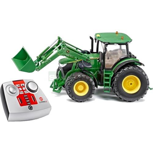 Remote Control John Deere Combine : Siku john deere r tractor with front loader