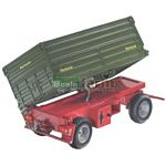 Remote Controlled Fortuna Side Tipping Trailer - Remote Control Farm Series from SIKU - 1:32 scale  (SIKU 6781)