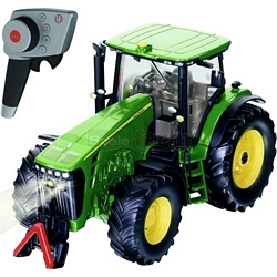 John Deere 8345R Radio Controlled Tractor (2.4GHz with Remote Control Handset) - Remote Control Farm Series from SIKU - 1:32 scale (SIKU 6881)