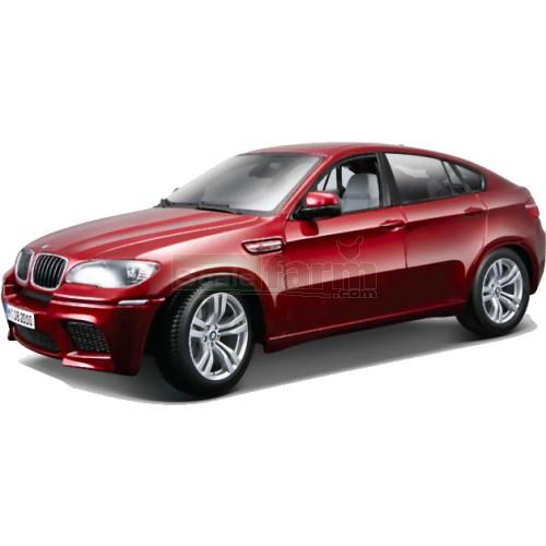 Bmw X6 Red Interior: Bburago 11032R