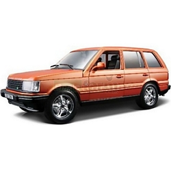 Range Rover - Orange Metallic - Bburago die cast models - 1:24 Scale (Bburago 22020)